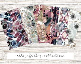 Planner Dividers : Artsy Fartsy Collection   DreamPlanRepeat
