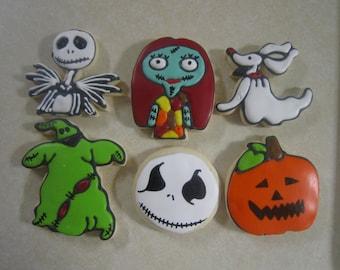 12 Nightmare Before Christmas Fan Art Cookies