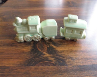 Green  Train Salt and Peppers