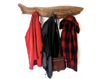 Rustic Fish Towel Rack, Driftwood Coat Rack, Driftwood Towel Rack, Cabin Coat Rack, Beach Rack, Driftwood Beach Decor, Driftwood Coat Hanger
