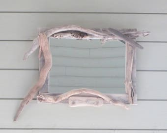 mirror Driftwood 48X35cm N8