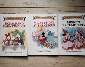 Disney Rhyming Readers Lot of 3