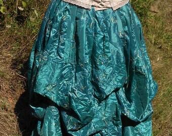 puffed skirt Cape Diem steampunk elven, medieval, romantic style.