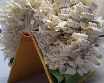 Altered Book Sculpture - Summer Day