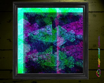 "Sushi - 12"" x 12"" HD Digital Print"