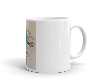 Mug with unique drawing