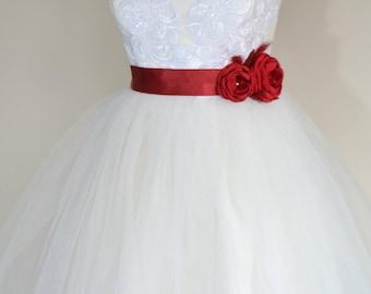 Dark Red Bridal belt, Burgundy Bridal sash, Floral Bridal Belt, sash belt, Red bridal belt, Flower wedding sash, Flower wedding dress belt