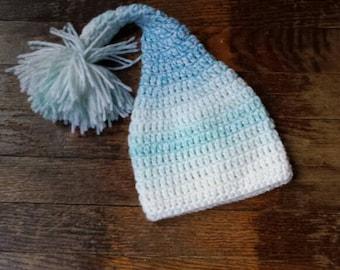 Blue Elf Hat