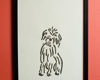 Adorable Mutt Print