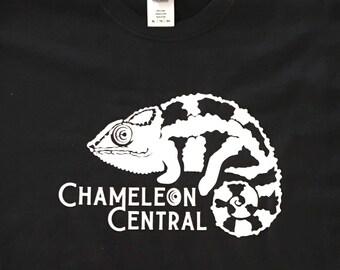 Chameleon Central USA  Panther Logo T-shirt