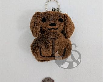 Dog Plush Keychain