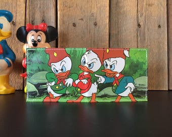Huey, Dewey & Louie Disneyland Map Wallet
