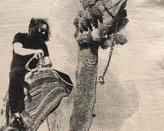 Grateful Dead Shirt-Jerry on a Camel in Egypt Lot Shirt-Adult Uni T Shirt Sizes S M L XL XXL