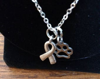 Stainless Steel Remembrance Necklace All proceeds from this necklace benefit CHARGE AGAINST CANCER.