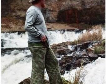 KNITTING PATTERN -  Birchbark Longies -  Adult Sizes