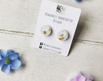Maisie Confetti Stud Earrings - Stud Earrings - Confetti Earrings - Wedding Jewellery - Bridesmaids Gift - Gift for Her - Gift Ideas