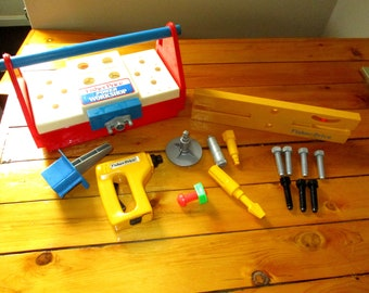 Fisher Price 1986 Power Tool Bench Workshop