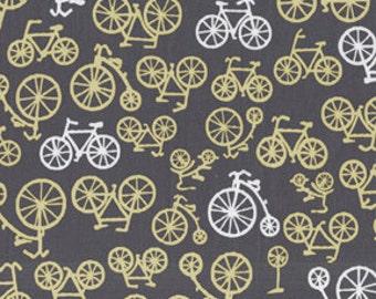 Michael Miller Bicycles in Citron 1 yard