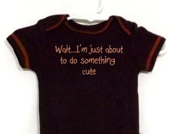 Lustige Baby Body Body Onepiece humorvolle Text