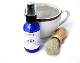 Dapper Gift- Upcycled Mug shave soap and whiskey aftershave Gift Box