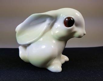 Vintage Ceramic Bunny Rabbit Figurine