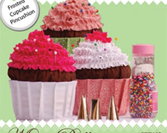 Frosted Cupcake Pincushion Pattern