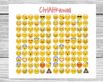 Emojis // Planner Stickers