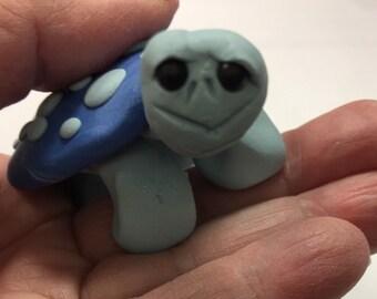 Shades of Blue Turtle, Turtle, Fantasy,
