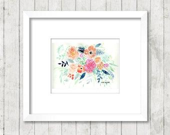 Just Because Bouquet 11 x 14 Art Print*