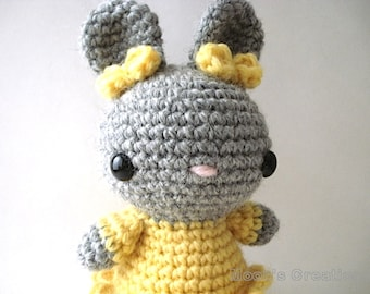 Amigurumi PDF Pattern - Pretty Bunny Amigurumi - Instant Download