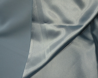 Light Blue Satin Fabric 2 plus yds.