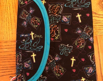 Quilted Bible /Book Cover