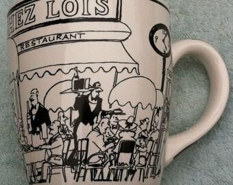 A Perfect Table oversized Chez Lois coffee mug