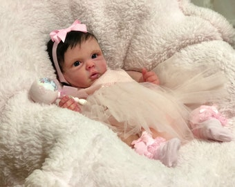 Ready to Ship!!  Full Body anatomically correct Silicone Baby Girl Doll