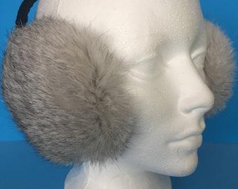Natural Fur ear cover | Earmuff | Headphones | Warm accessories |