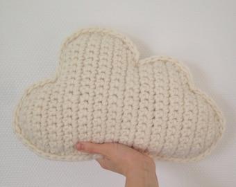 Cushion cloud ecru / natural / white