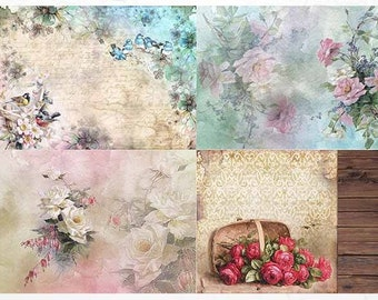 Rice paper for Decoupage #R1393