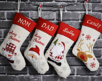 Personalized Christmas Stockings Personalized Stockings Christmas Stockings Christmas Stocking ristmas Stocking quilted christmas stockings