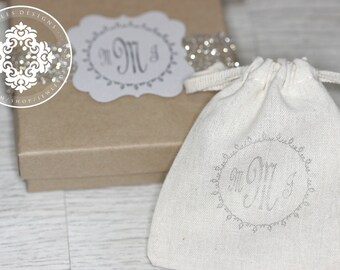 Specialty Monogram Gift Boxes, bridesmaids-personalized-Initial-Custom Monogram, Personalized Gift, handmade wedding Jewellery