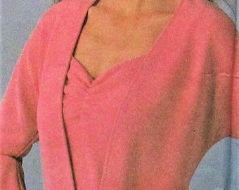 Cardigan and Top Sewing Pattern UNCUT Simplicity 4779 Sizes 6-12