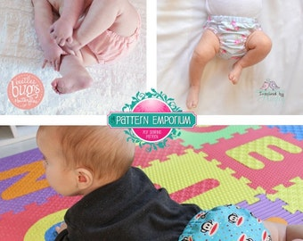PATTERN Nappy/Diaper Cover - Baby Playtime Pant - PDF Sewing Pattern - Instant Download - Pattern Emporium