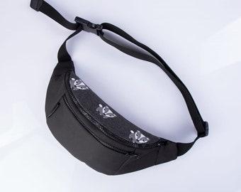 Raccoon belt bag,Fanny belt bag,Pocket Belt bag,Fanny pack for men,Men Festival bag,Hip Bum bag pack,Fanny Pack,Belt Waist bag,Utility belt
