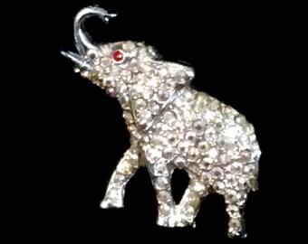 Elephant Brooch Pin