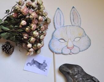 Easter Rabbit Mask