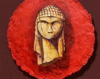 Brassempouy painting prehistoric art