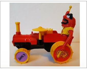 Vintage CORGI CAR Animal Tractor 1979 Die Cast Metal Muppet Show Henson Great Britain