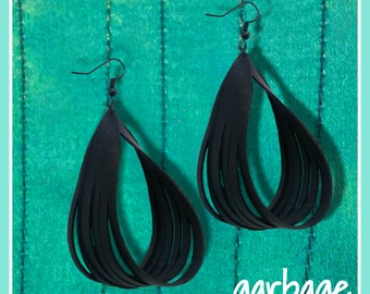 Twisted Upcycled Earrings