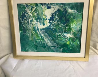 8x10 canvas board acrylic art