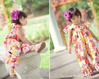 Ruthie's Romper Multi Size Paper Sewing Pattern by Izzy & Ivy Designs