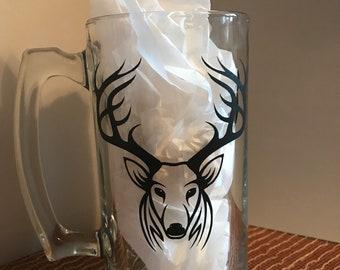 Beer Mug-Deer Head